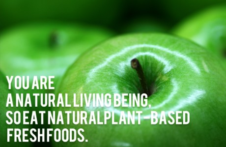YOU ARE A NATURAL LIVING BEING…